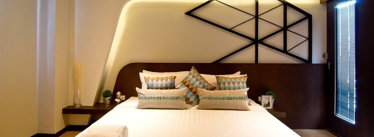 Stylishly designed Hotel
