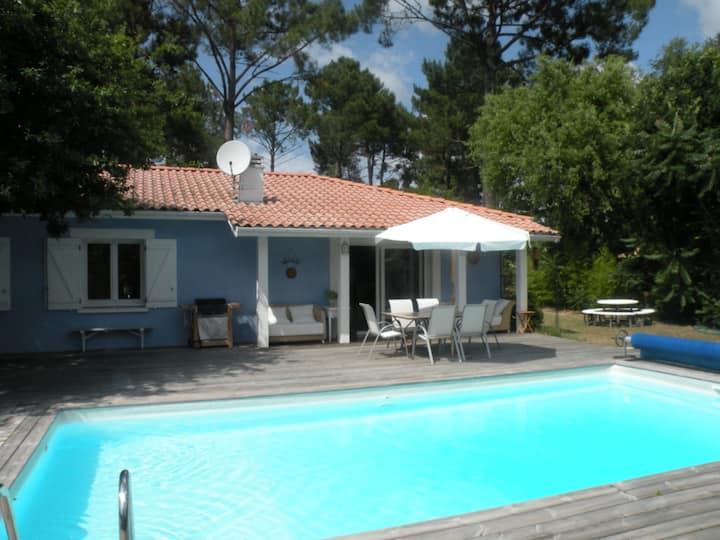 House Villa heated Swimming pool