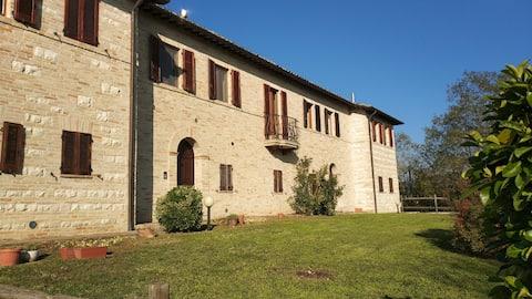 Urbinoから4 kmの古い農家のアパート2