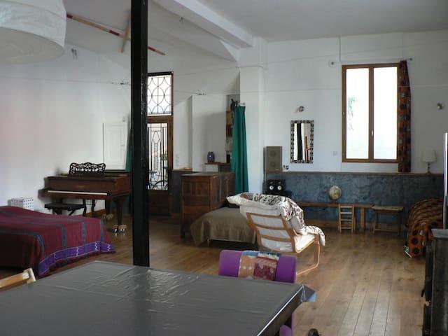Loft avec piano et billard  - Montreuil - Loft
