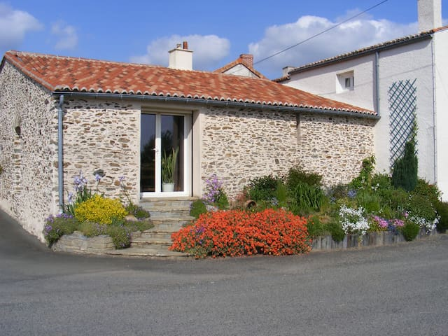 Studio sur les coteaux de la Loire - Drain - House