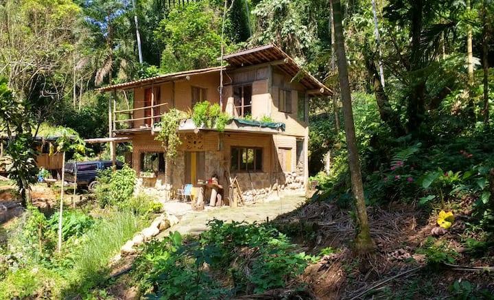 Casinha Ecológica da Cachoeira