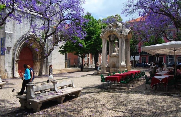 Lisb'heart-Bairro Alto-Chiado- view castle- LUXO