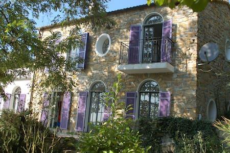 Romantisches Landhaus mit Meerblick - Vasia - Rumah