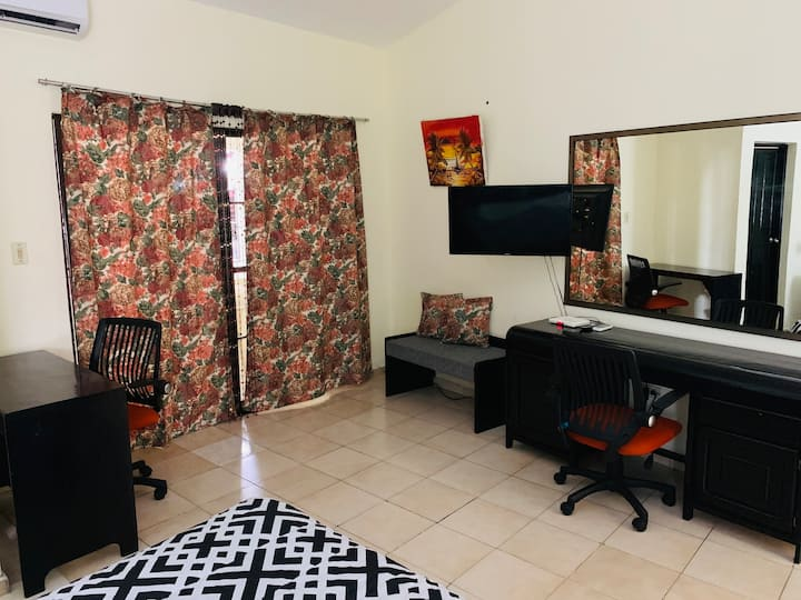 2BR apartment on the main strip easy walk to beach