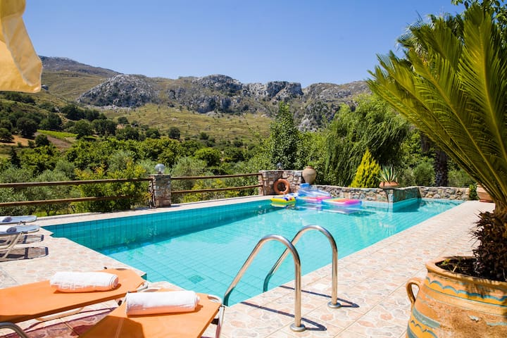 Private Pool,Kids Play Area,Taverns,Mini Market - Rethymno - Villa