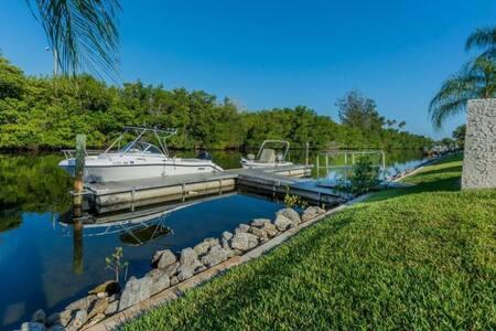 Tropical Modern River Front Condo