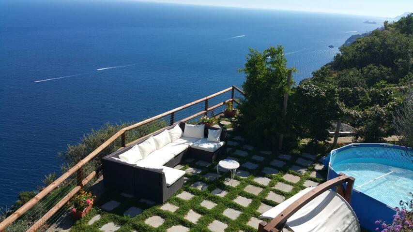 Villa Ametista, Amazing Sea View, Amalfi Coast - Conca dei Marini - Villa