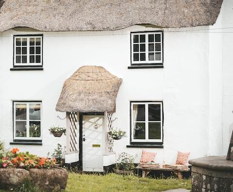 Luxury thatched Devon cottage for 2