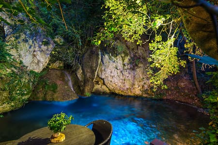 Hidden in a Forest with Lagoon Pool, House Myloi - Myli