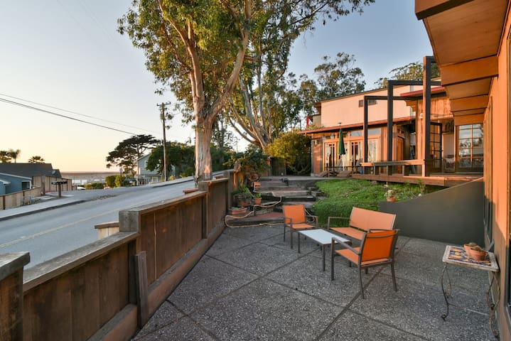 Four Bedroom Rustic Home with Unbeatable Outdoor Spaces and Harbor Views
