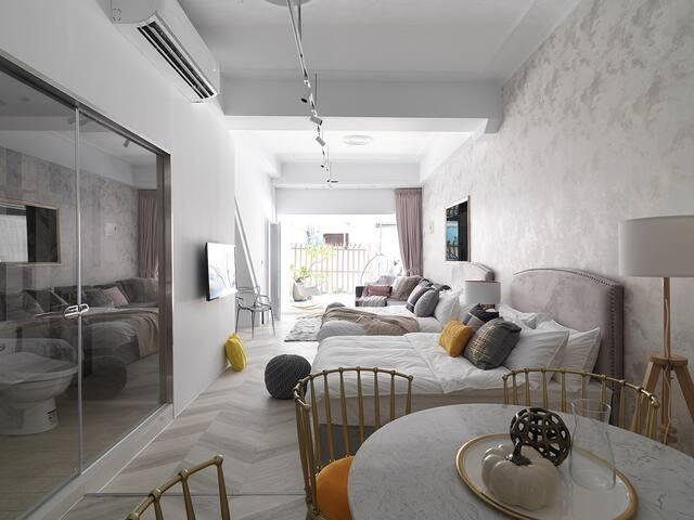 二號變奏曲-獨立房間/一樓/開放式空間/獨立衛浴