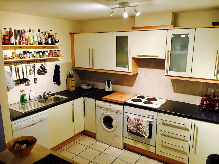 Get creative - you have access to a fully equipped kitchen!