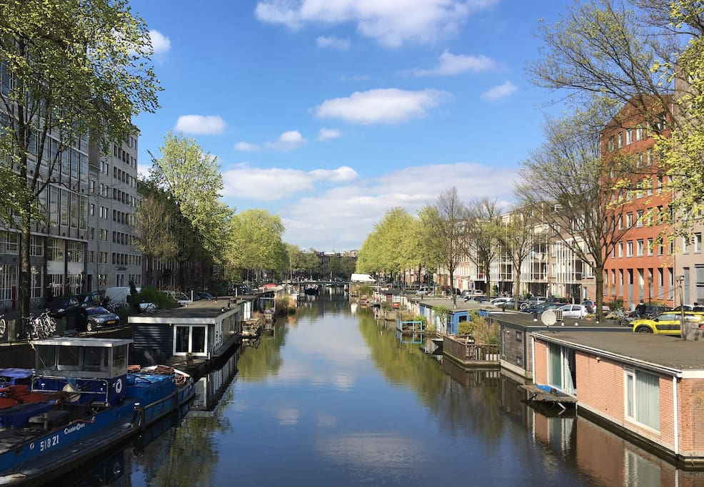 The canal on a sunny day!