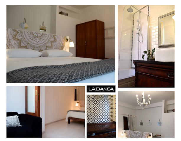 "Rm 4 ""La Bianca""> DBL en-suite in charming B&B"