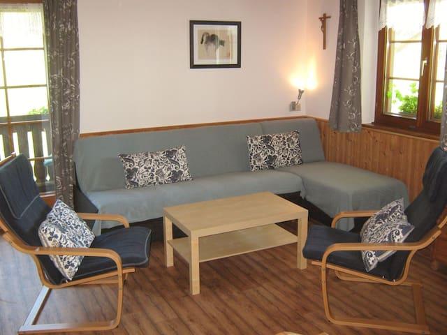 Disselhof, (St. Peter), Ferienwohnung, 52qm, 1 Schlafzimmer, max. 5 Personen