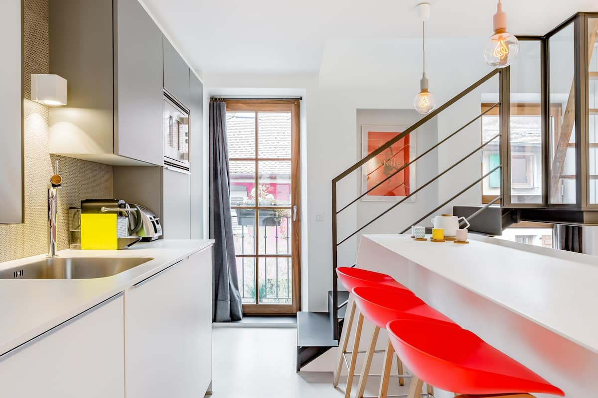 Contemporary Loft Apartment in the Heart of Annecy