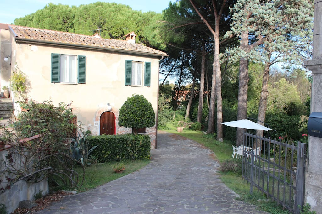 Entrance of the Castellare Guest House