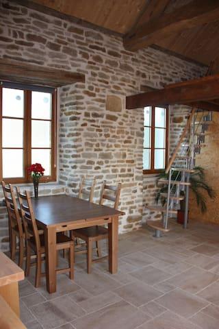 Gite Rural au coeur de la bourgogne - Bussy-le-Grand - Hus
