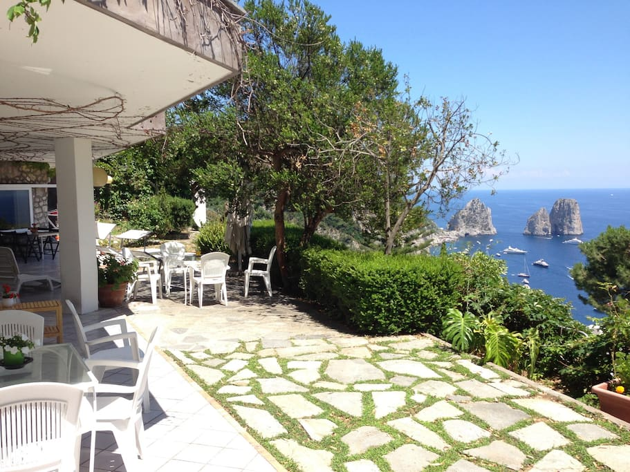 Panoramic Villa Capri Villas For Rent In Capri Campania