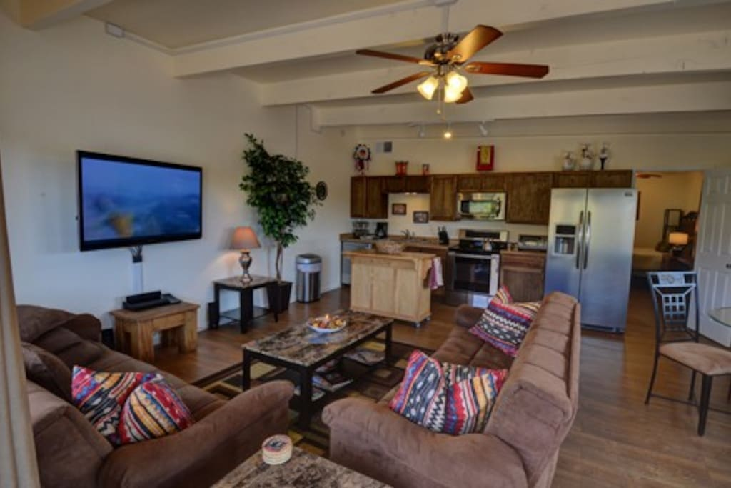 Comfortable and convenient living area