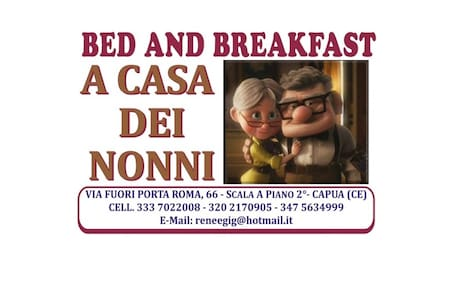 B&B A casa dei nonni - Bed & Breakfast