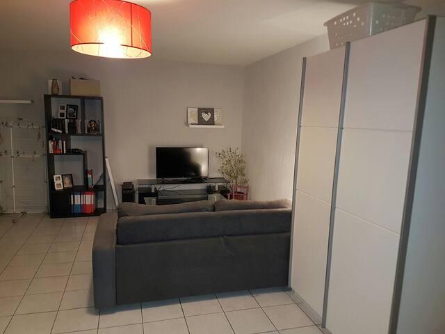 Appartement 4 personnes proche gare et CV - Perpignan