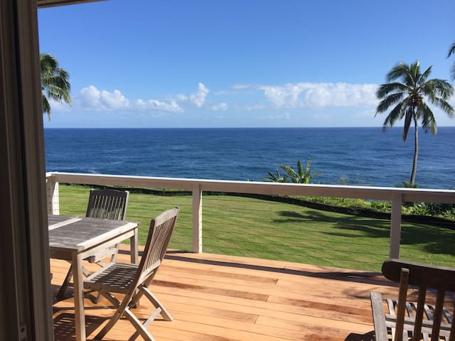 OCEAN FRONT -The Loft at Pali Lani  - Hakalau - Loft