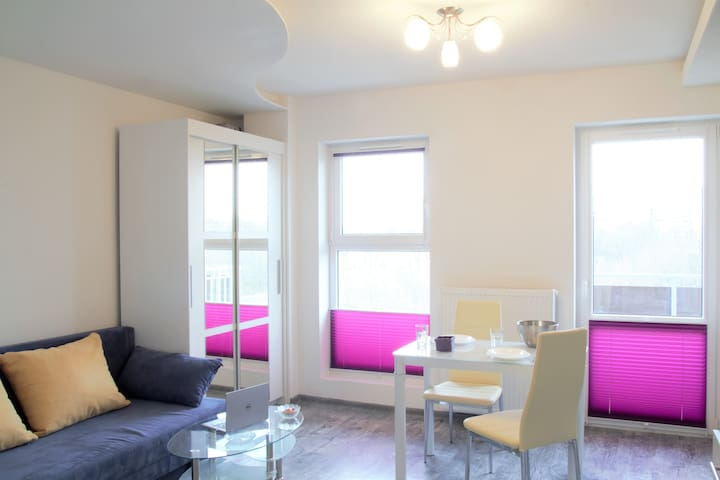 Lovely new studio apartment near Old Town - Kraków