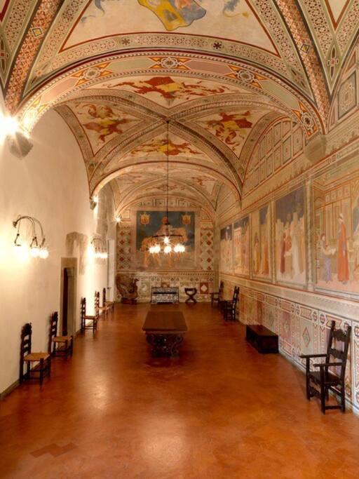 Museum: Main room