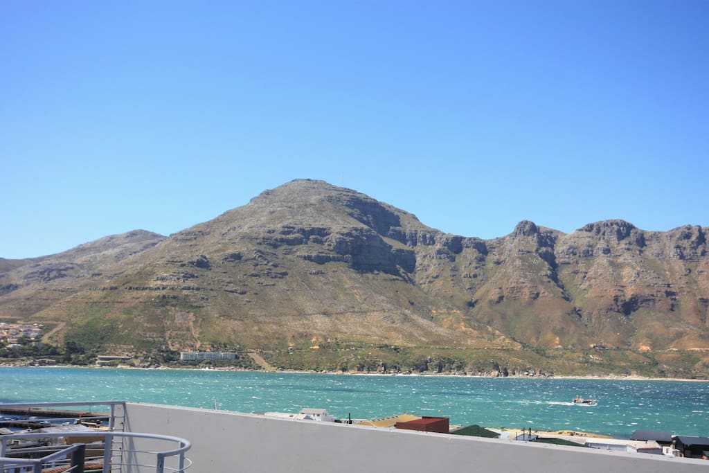 View of Chapman's  Peak Drive from the balcony