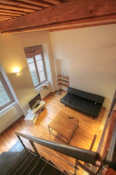 quartier op ra appartement meubl appartements louer lyon rh ne alpes france. Black Bedroom Furniture Sets. Home Design Ideas