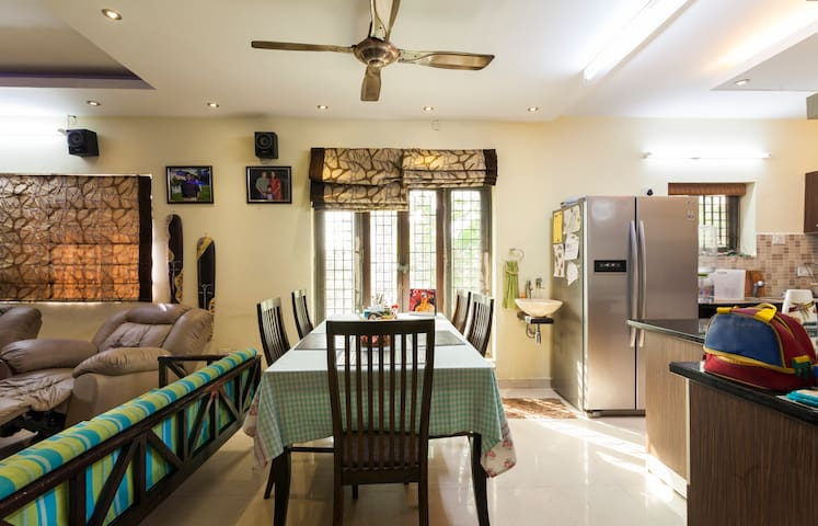Arun Villa family friendly,cosy accomadation - Chennai - Rumah