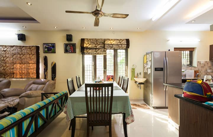 Arun Villa family friendly,cosy accomadation