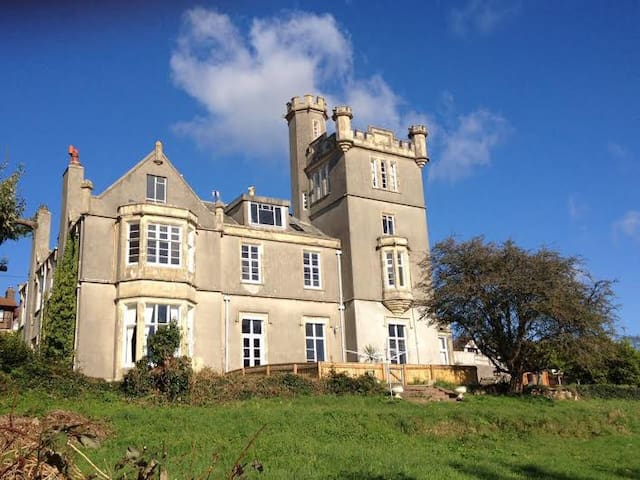 Victorian gothic 'fairytale' castle/folly in Devon
