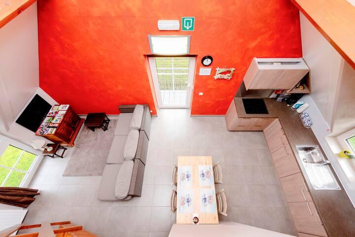 Studio 4 personen tssn Brugge & Gent :SELF CHECKIN