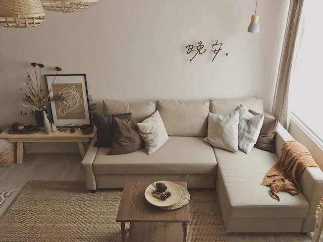 New!|Lo-Fi Home|2-4 people Ximen MRT 3~4 mins