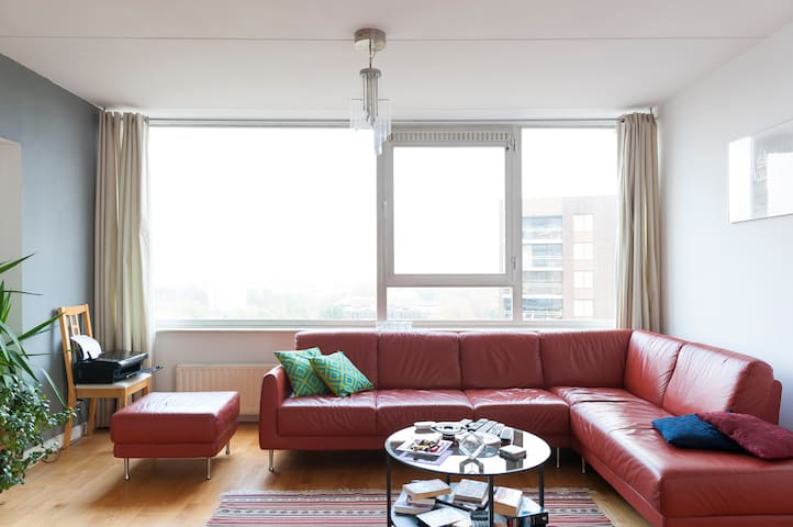 spacious with view and free parking - Eindhoven - Byt