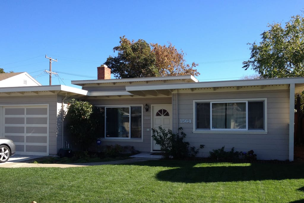 San Mateo home in the peaceful and sunny Shoreview neighborhood.