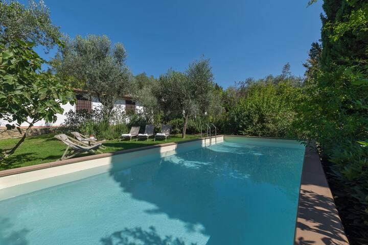 Luxury villa with private pool close to Florence