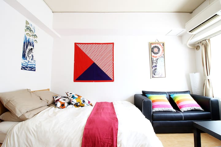 PRIME LOCATION! SHIBUYA 5MIN COZY,QUIET & BRIGHT - Shibuya - Daire