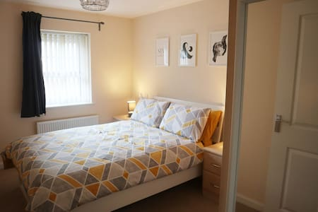 Modern one bed flat with parking- Pendlebury Place