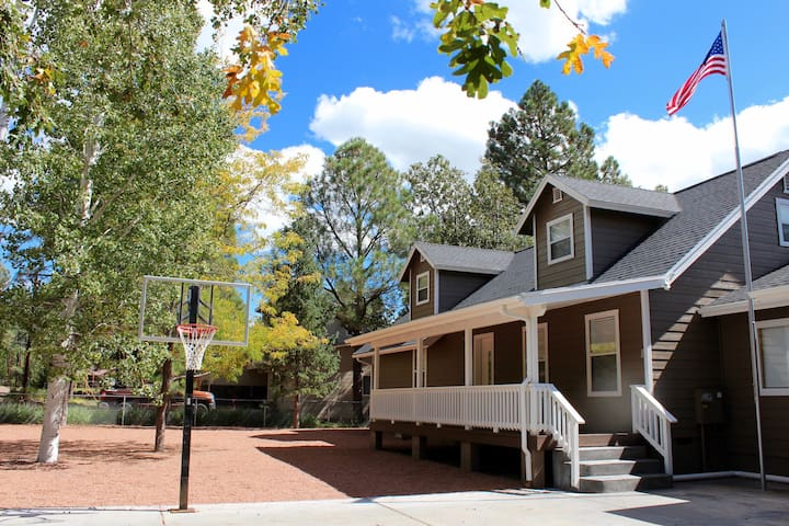 Lang Family Home In The Woods - Navajo County - Casa
