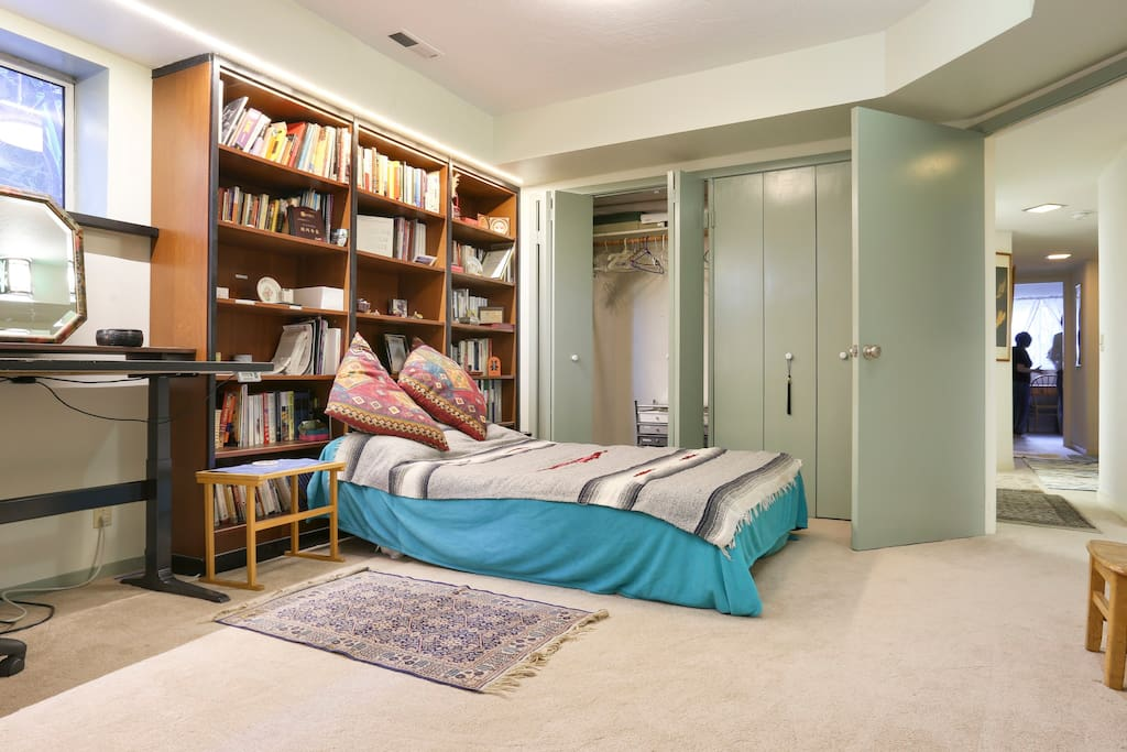 Lots of closet space and plenty of room to spread out