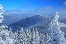 Our Adirondacks make the perfect winter get way!