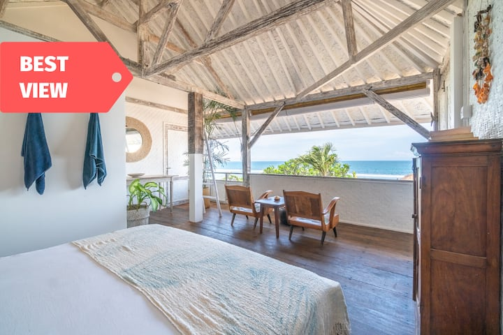 Enjoy Sound of Waves Lullaby in Beachfront Cabin