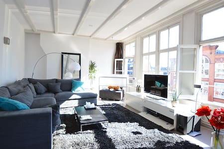Amazing 2p luxurious City apartment with balcony - Amsterdam