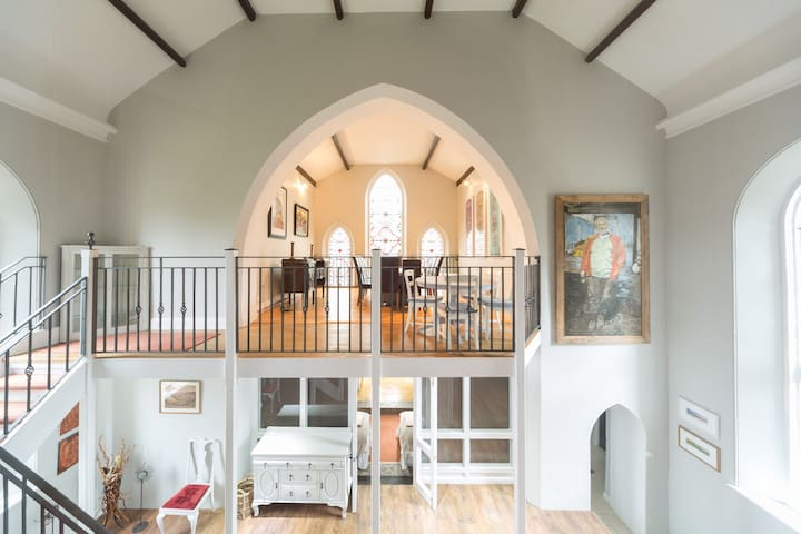 Beautiful Gothic Church Conversion