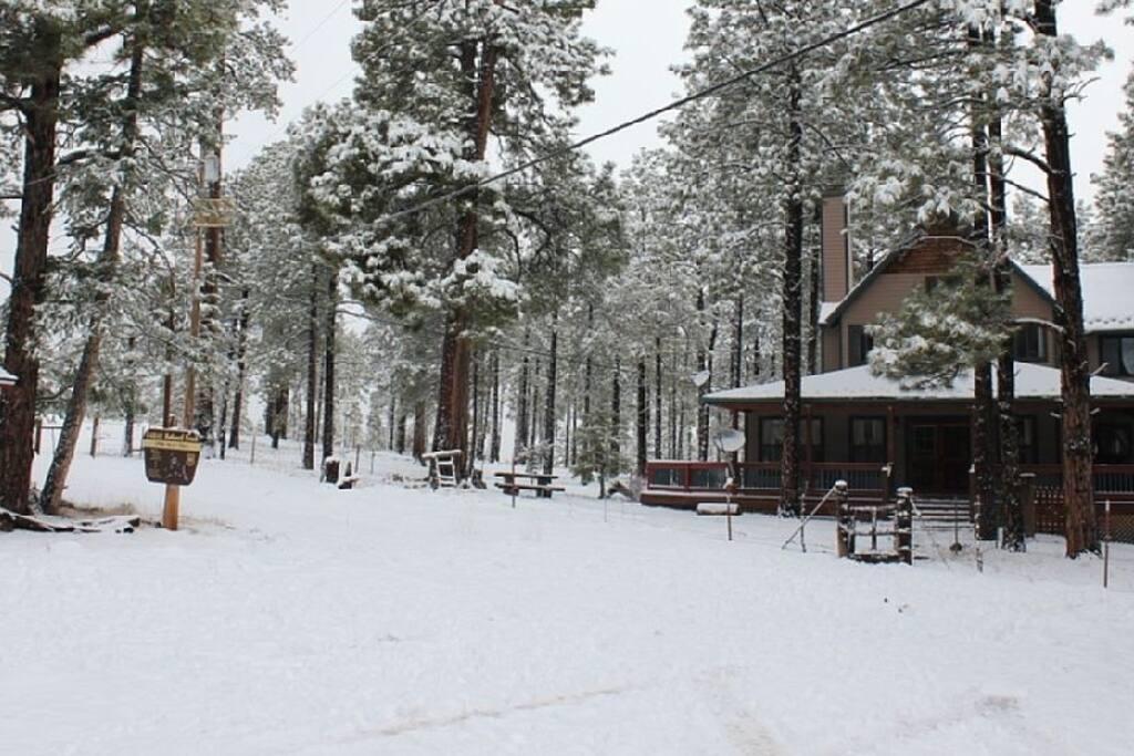 Perfect spot for a winter getaway!