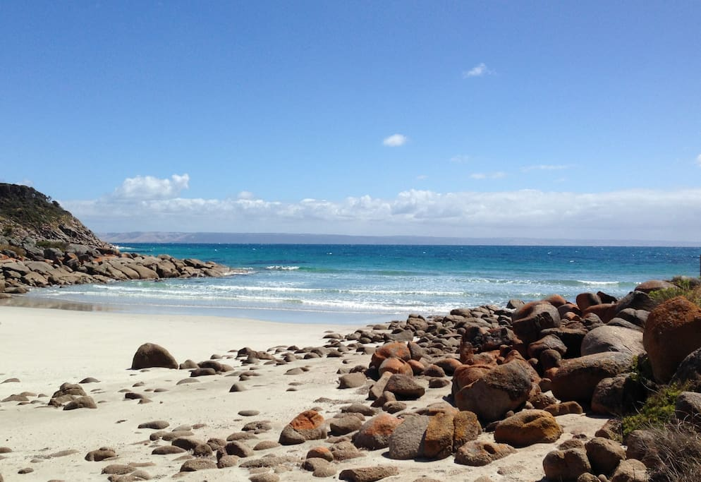 Our very own secluded beach